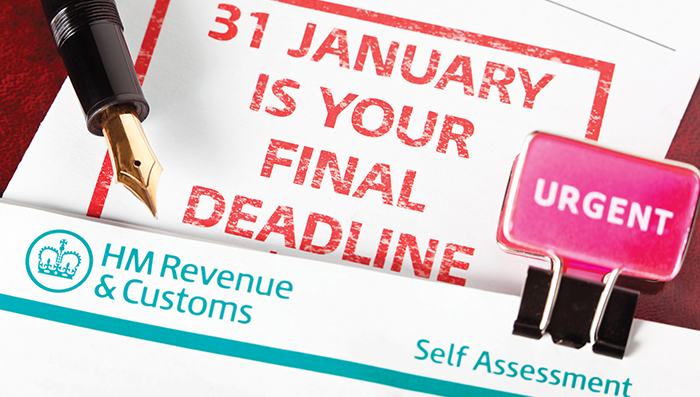 UK Tax Payers need to complete a Tax Return by 31st January every year. Anybody who is self-employed, a company director, a trustee or receiving foreign income must complete a Self Assessment tax return.