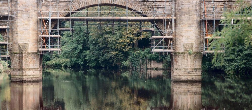Old bridge repairs