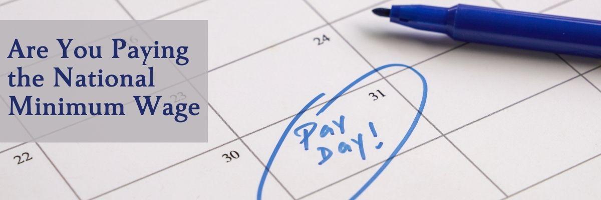 Payday circled on a calendar